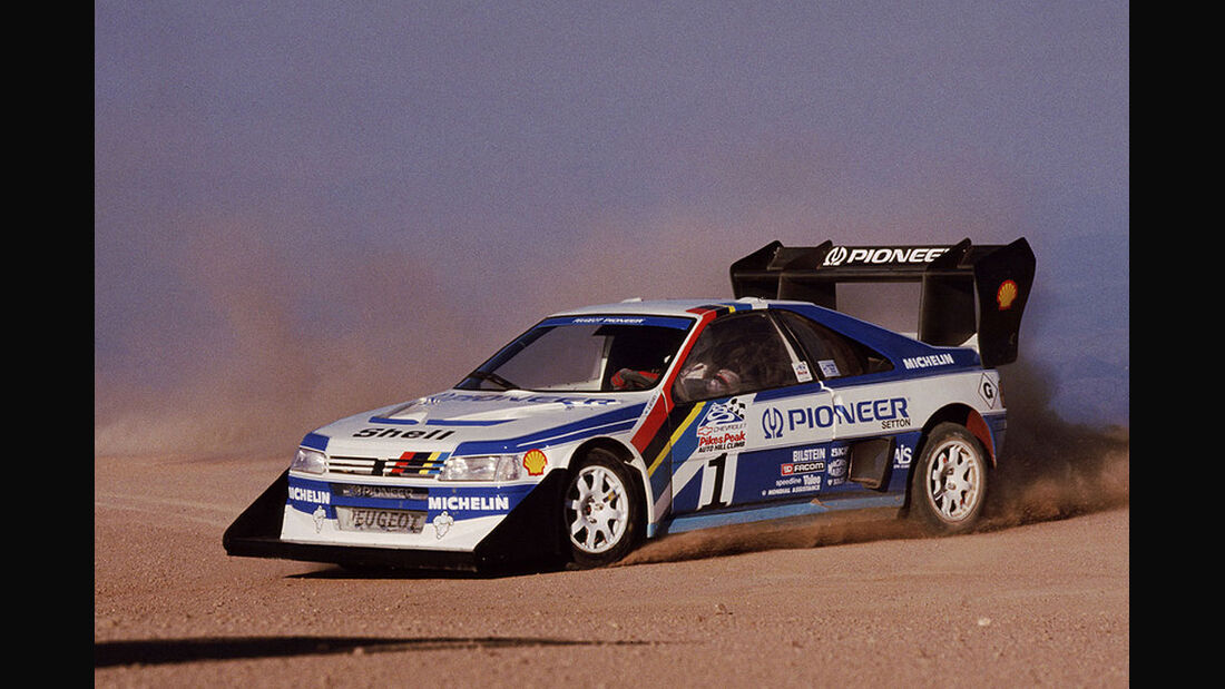 Peugeot 405 Turbo Pikes Peak