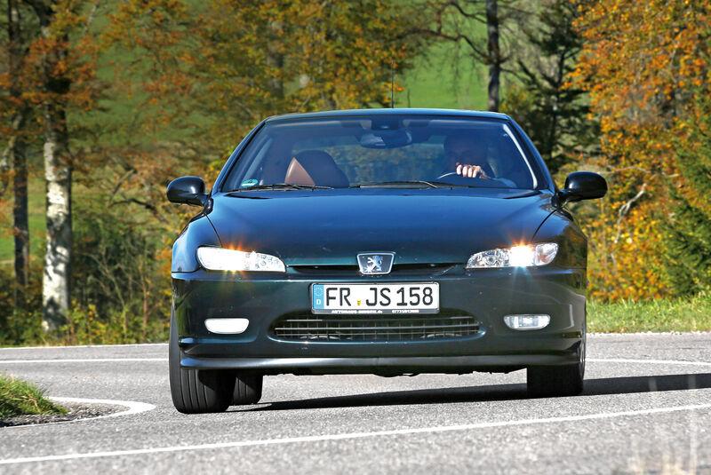 Peugeot 406 Coupé 2.0, Frontansicht