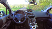 Peugeot 5008 155 THP, Cockpit