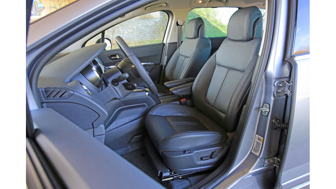 Peugeot 5008 155 THP, Fahrersitz