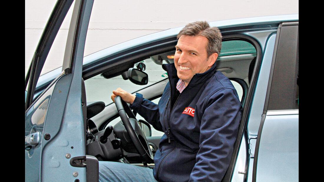Peugeot 5008 155 THP, Fahrersitz, Peter Wolkenstein