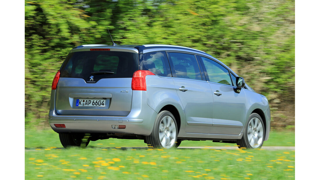 Peugeot 5008 155 THP, Heckansicht