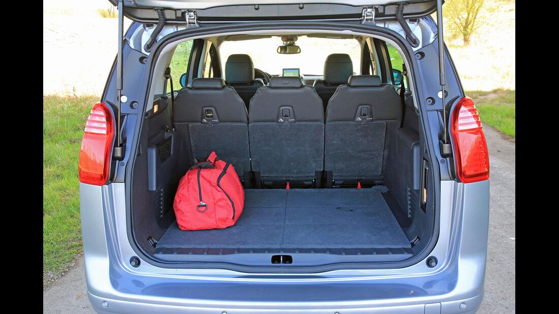 Peugeot 5008 155 THP, Kofferraum