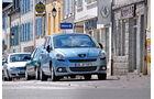 Peugeot 5008 155 THP, Kopfsteinplaster, Frontansicht