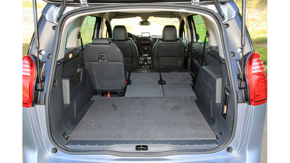Peugeot 5008 155 THP, Ladefläche