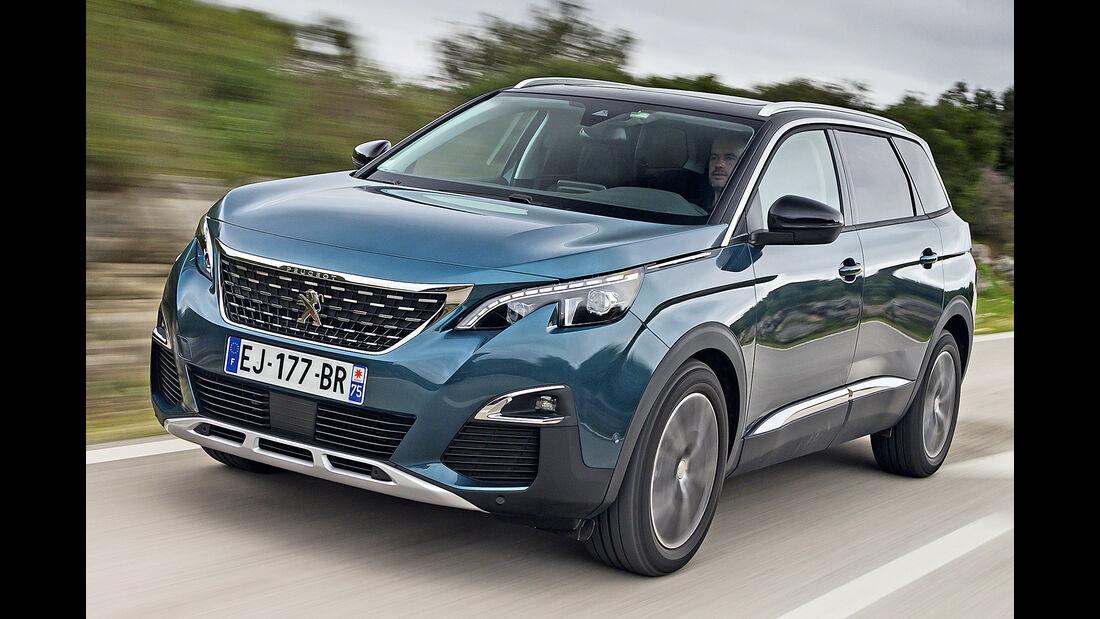 Peugeot 5008, Best Cars 2020, Kategorie K Große SUV/Geländewagen