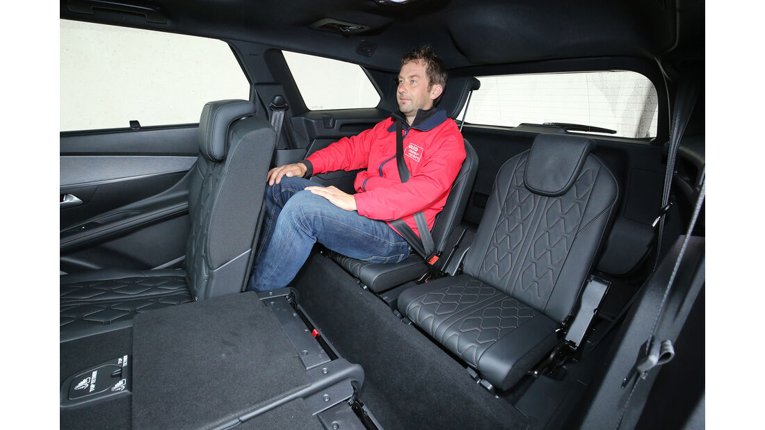 Peugeot 5008 BlueHdi 180 GT, Interieur