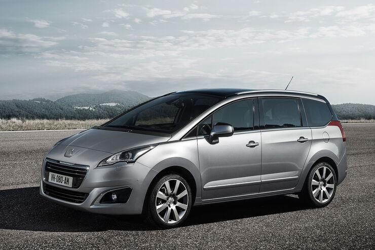 Peugeot 5008 Facelift 2013