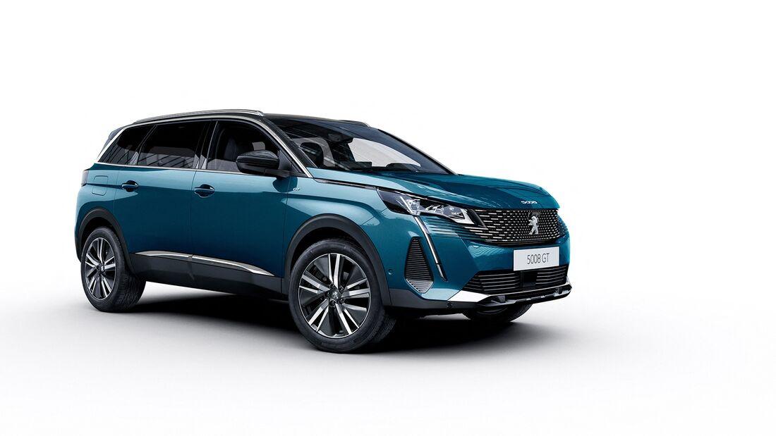 Peugeot 5008 Facelift 2021