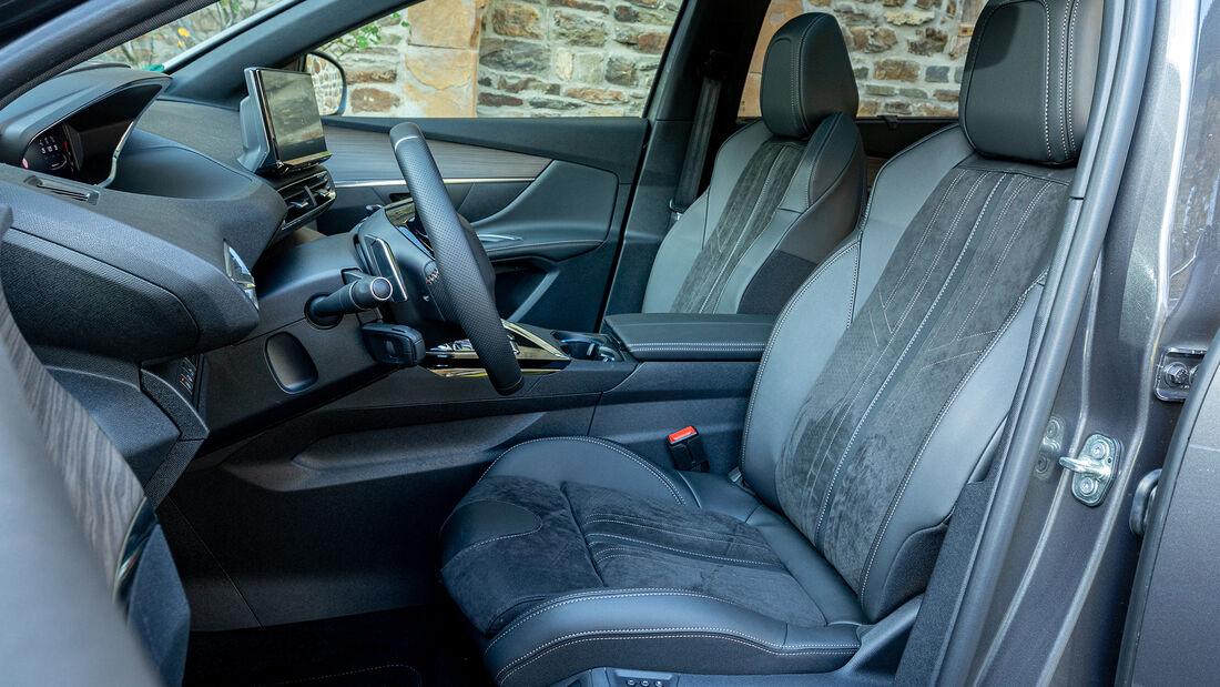 Peugeot 5008 Facelift, Interieur