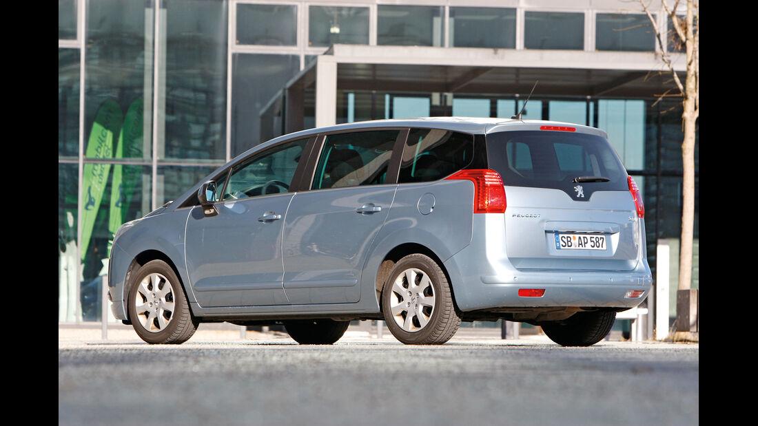 Peugeot 5008, Seitenansicht