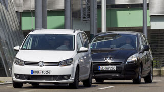 Peugeot 5008, VW Touran