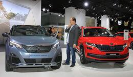 Peugeot 5008 und Skoda Kodiaq