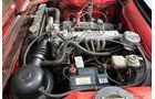 Peugeot 504 Cabriolet Motorraum