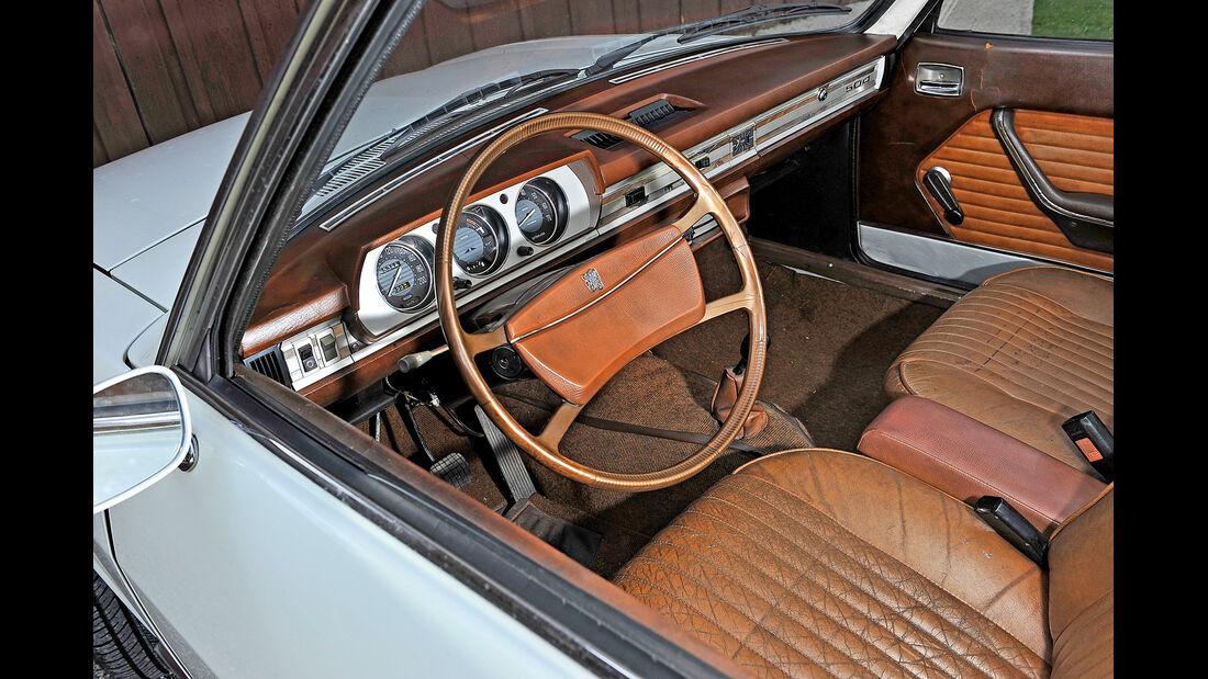 Peugeot 504, Cockpit, Interieur