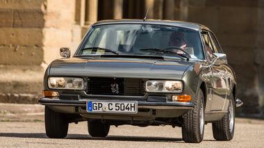 Peugeot 504 Coupé, Frontansicht