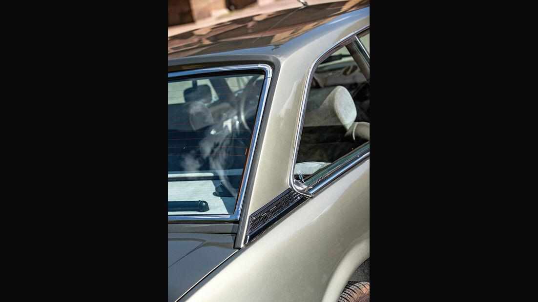 Peugeot 504 Coupé, Heckfenster