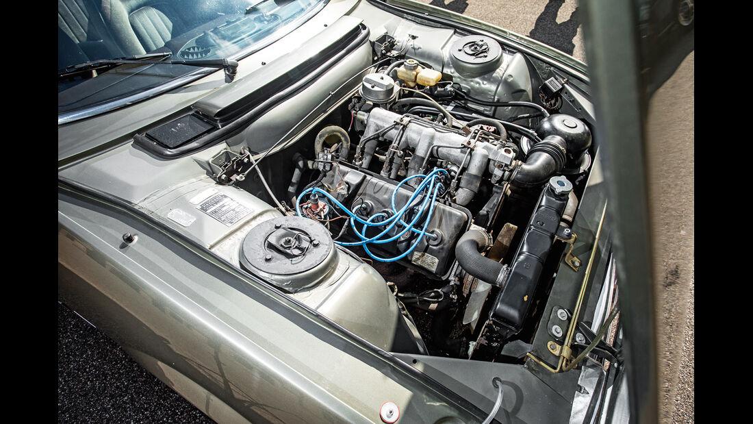 Peugeot 504 Coupé, Motor