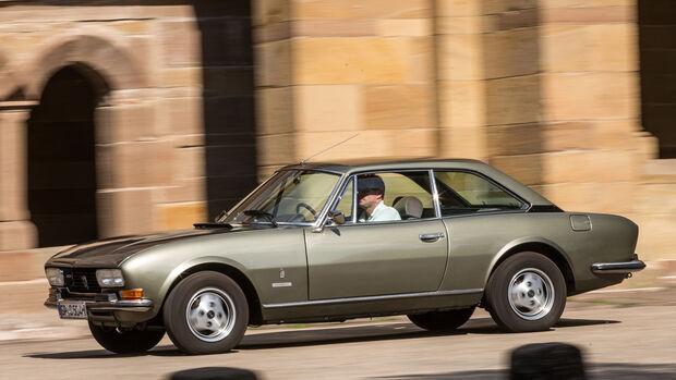Peugeot 504 Coupé, Seitenansicht