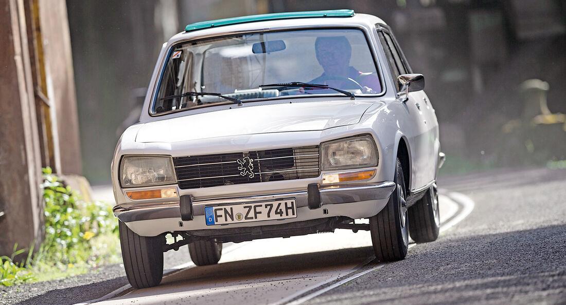 Peugeot 504, Frontansicht