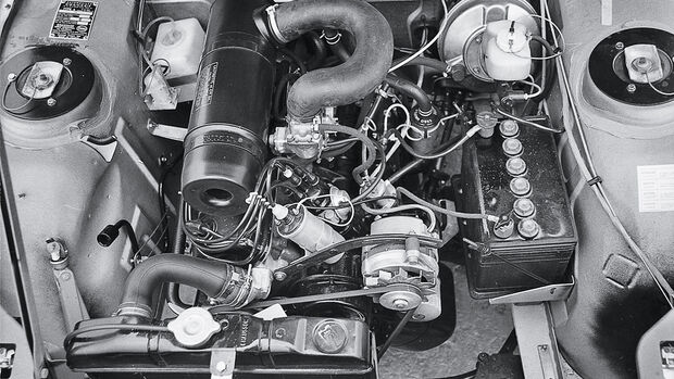 Peugeot 504 L, Motor