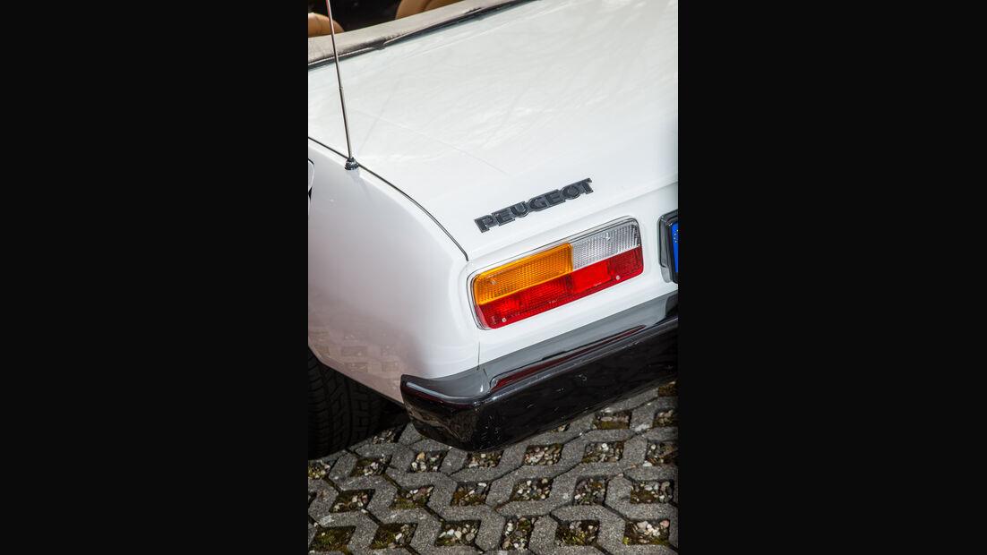 Peugeot 504 TI Cabrio, Heckleuchte