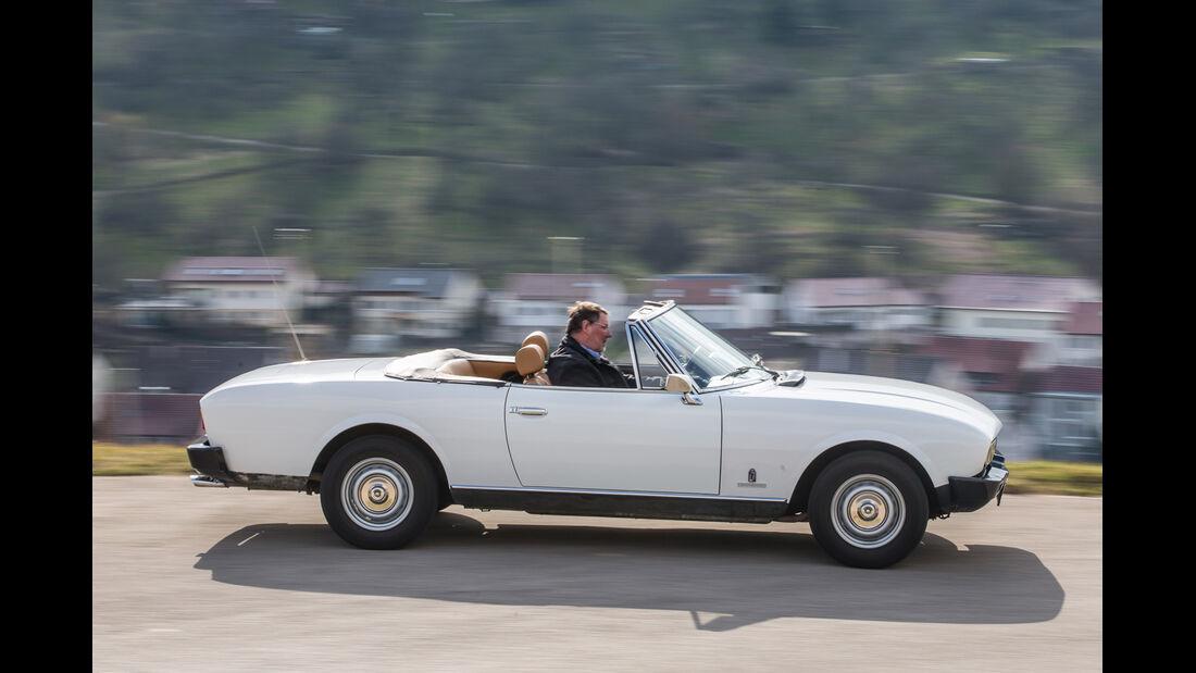 Peugeot 504 TI Cabrio, Seitenansicht