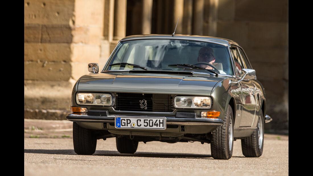 Peugeot 504 TI Coupé, Frontansicht