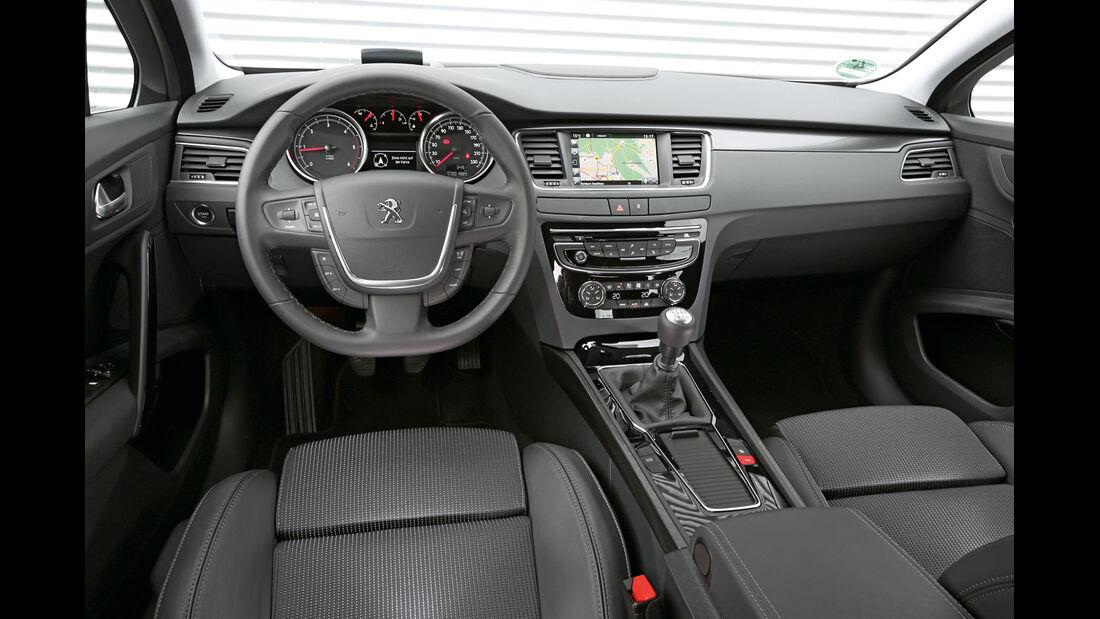Peugeot 508 BlueHDi 150 Allure, Cockpit