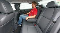 Peugeot 508 BlueHDi 150 Allure, Fondsitz, Beinfreiheit