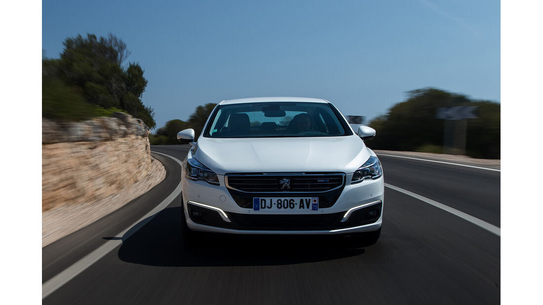 Peugeot 508, Facelift