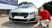 Peugeot 508, Facelift, LED-Scheinwerfer