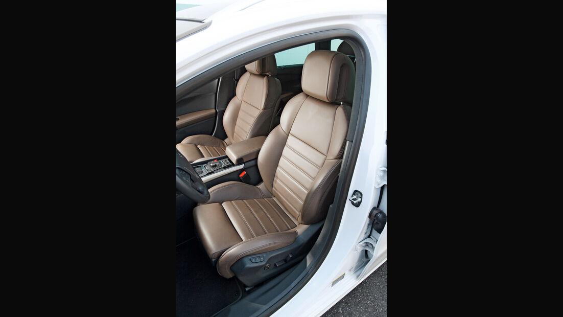 Peugeot 508, Fahrersitz