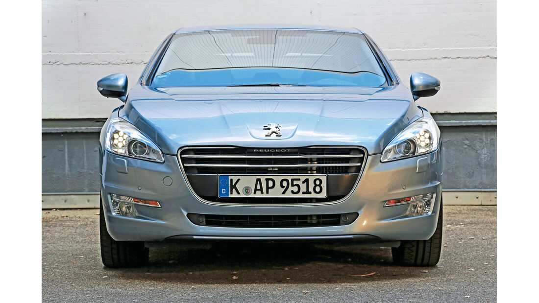 Peugeot 508, Frontansicht