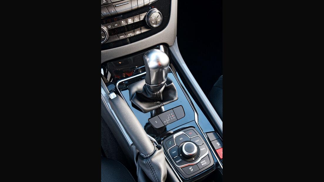 Peugeot 508, Ganghebel, Schalthebel