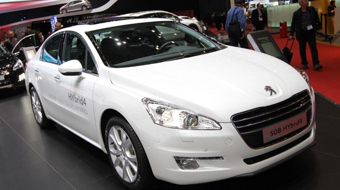 Peugeot 508 Hybrid 4, Messe