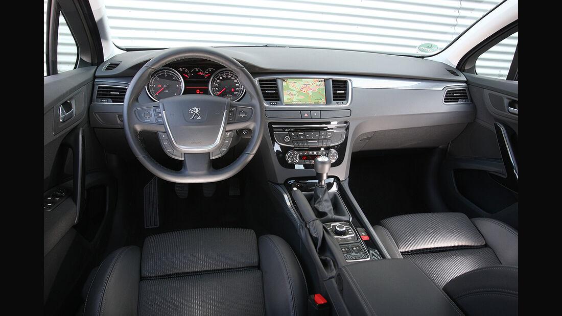 Peugeot 508, Innenraum, Cockpit