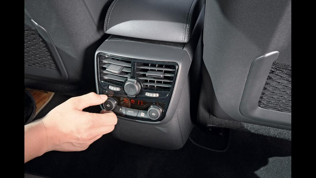 Peugeot 508, Klimaautomatik