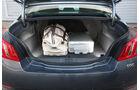 Peugeot 508, Kofferraum