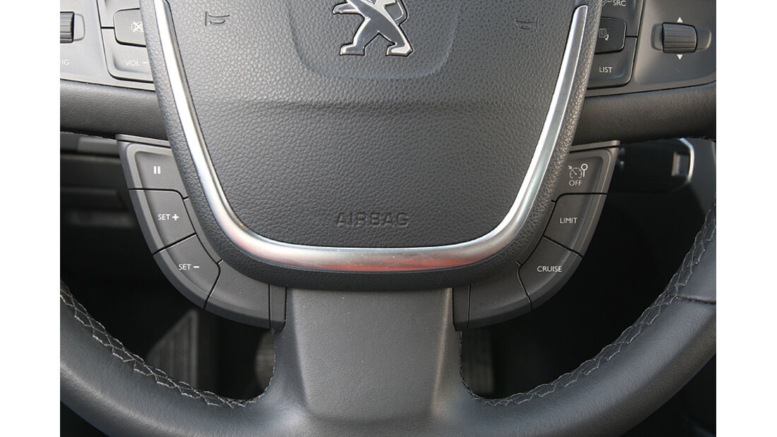 Peugeot 508, Lenkrad