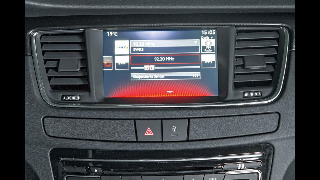 Peugeot 508 Limousine, Radio