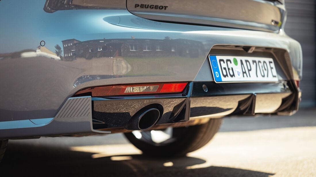 Peugeot 508 PSE, Exterieur