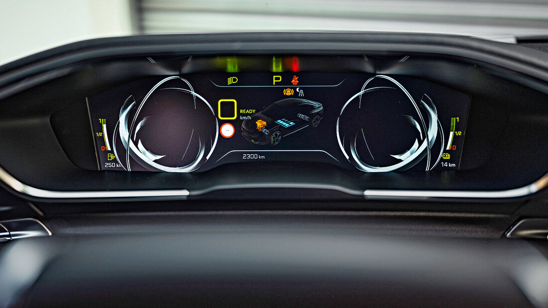 Peugeot 508 PSE, Interieur