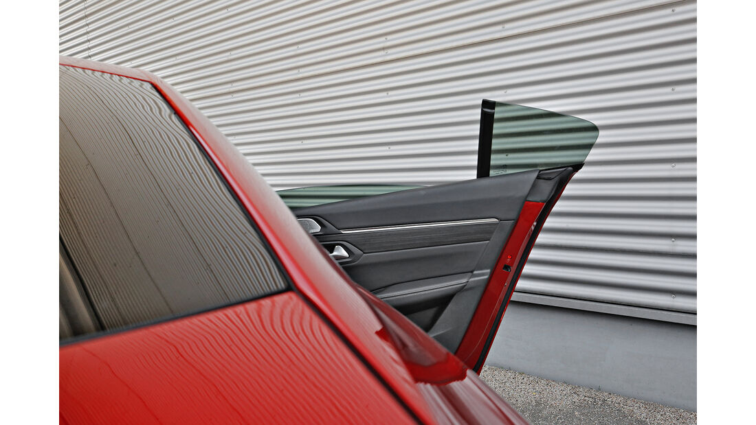 Peugeot 508 Puretech 225, Exterieur