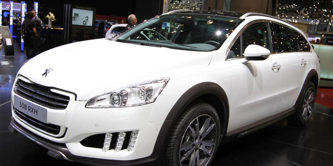 Peugeot 508 RXH Autosalon Genf 2012, Messe