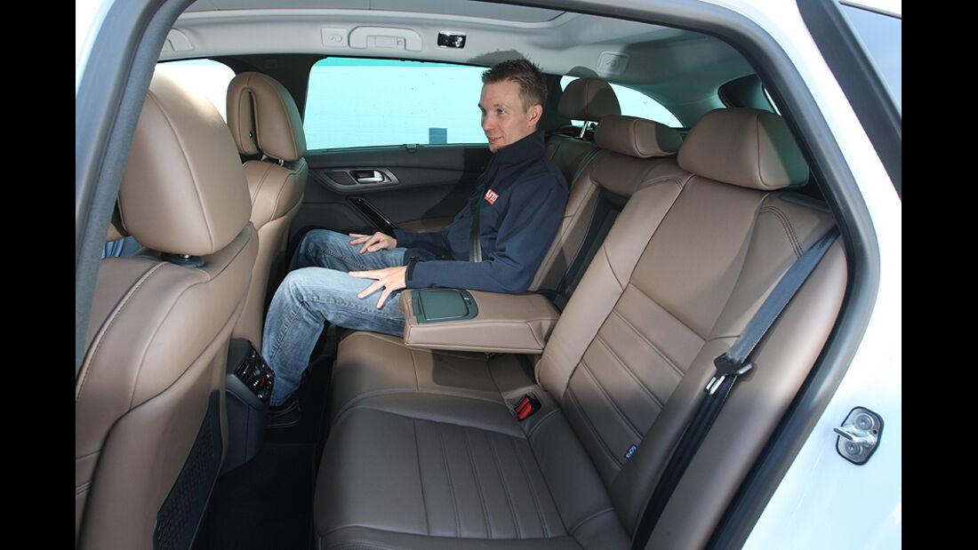 Peugeot 508 Rücksitze
