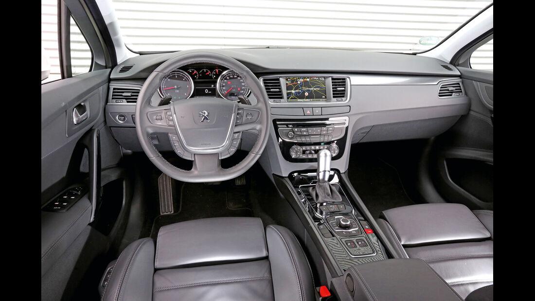 Peugeot 508 SW Blue HDI 180, Cockpit