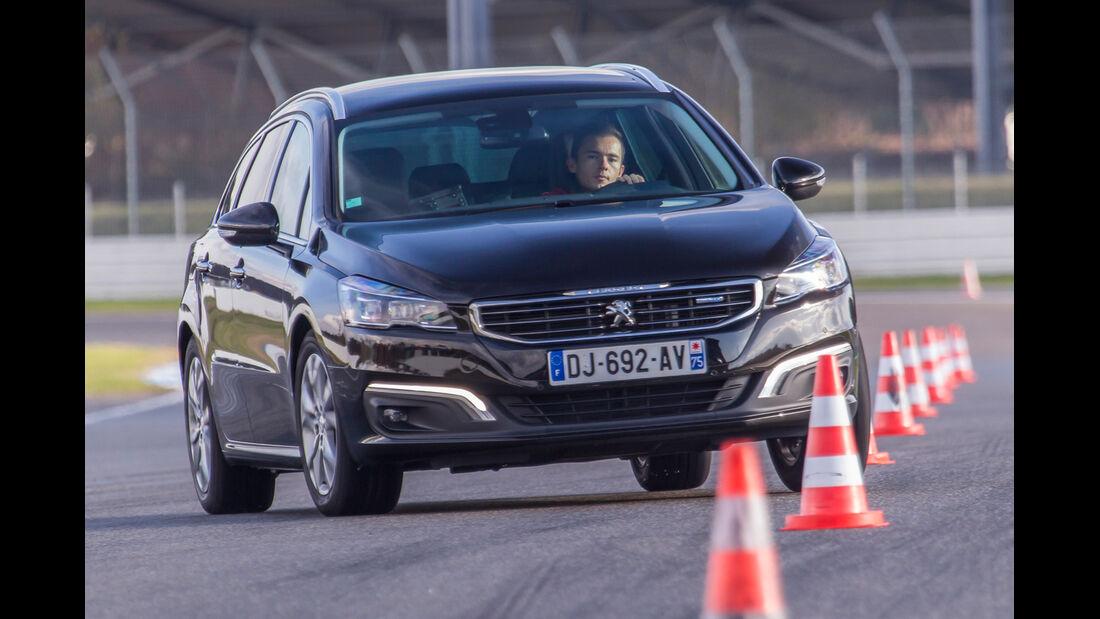 Peugeot 508 SW BlueHDi 150, Frontansicht