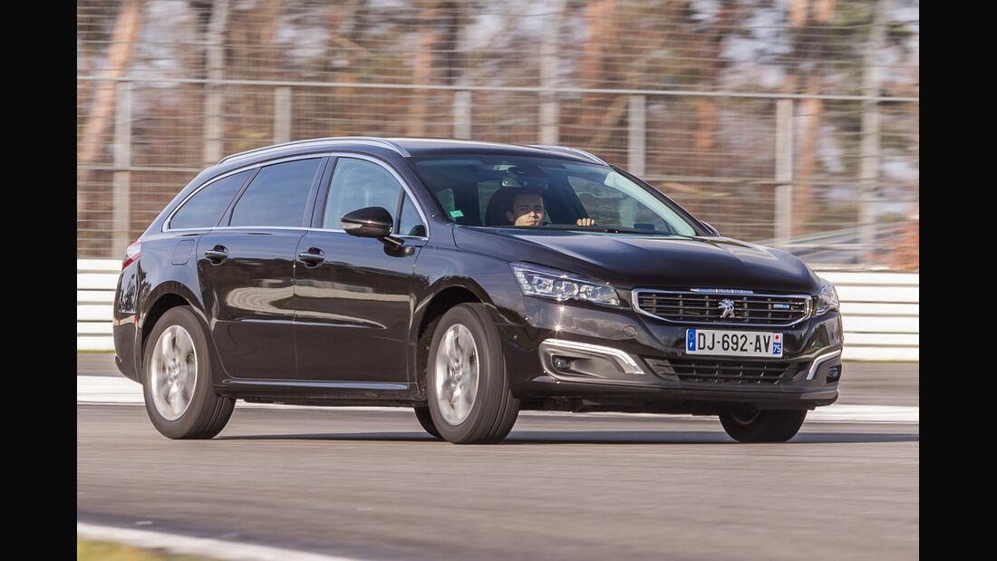 Peugeot 508 SW BlueHDi 150, Seitenansicht