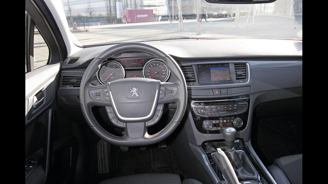 Peugeot 508 SW, Cockpit